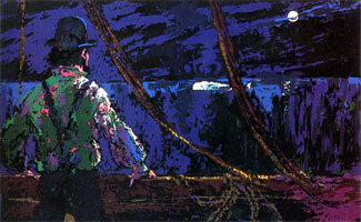 LeRoy Neiman Originals Call 702-222-2221 Ahab At The Night Watch