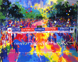 LeRoy Neiman Originals Call 702-222-2221 Classic Marathon Finish